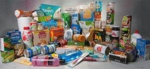Long life whole milk, plain meat, honey and jam head January's most needed items