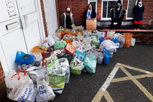 Just getting busier and busier with more donations than ever before
