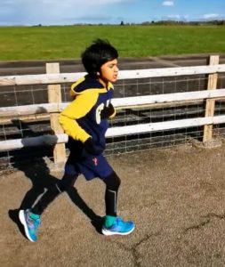 Sporting superstar Shayan raises £2,000