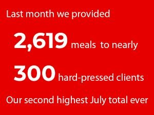Read more about the article Second highest ever July total for meals delivered